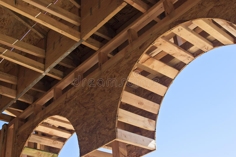 Download Wooden Arch stock image. Image of place, material, development - 21410047