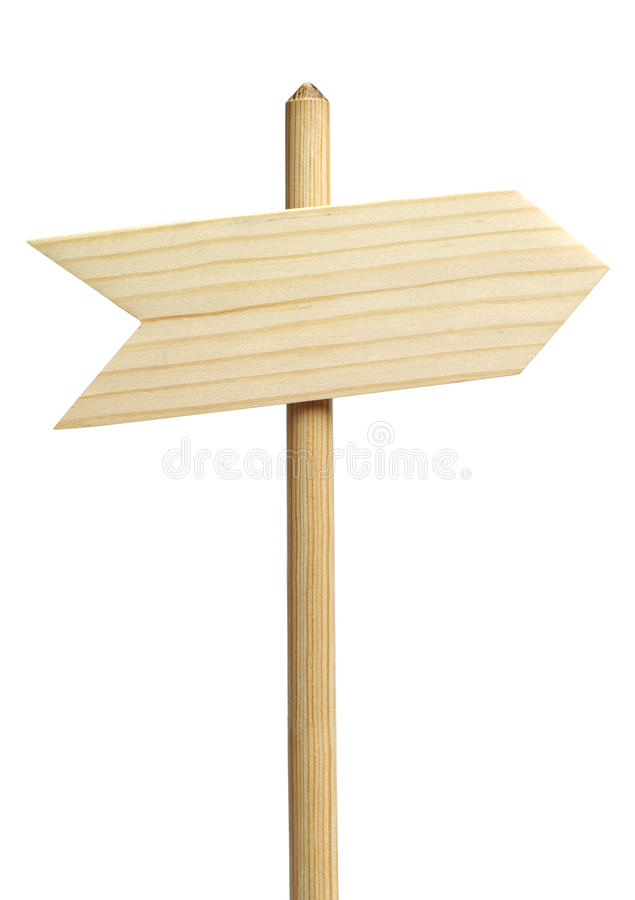 Wooden arrows royalty free stock image