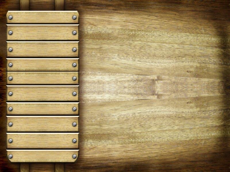 Download Wooden background stock illustration. Illustration of construction - 22596090