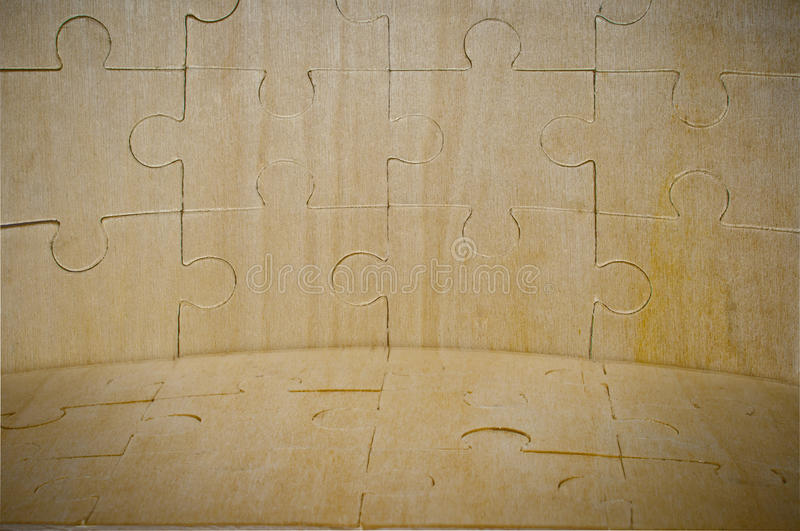 Download A Wooden Background Is Collected From Puzzle Stock Photo - Image: 22028476