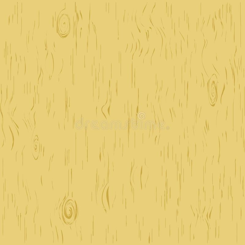 Wooden background. Flat isolated vector illustration on a white background. royalty free illustration