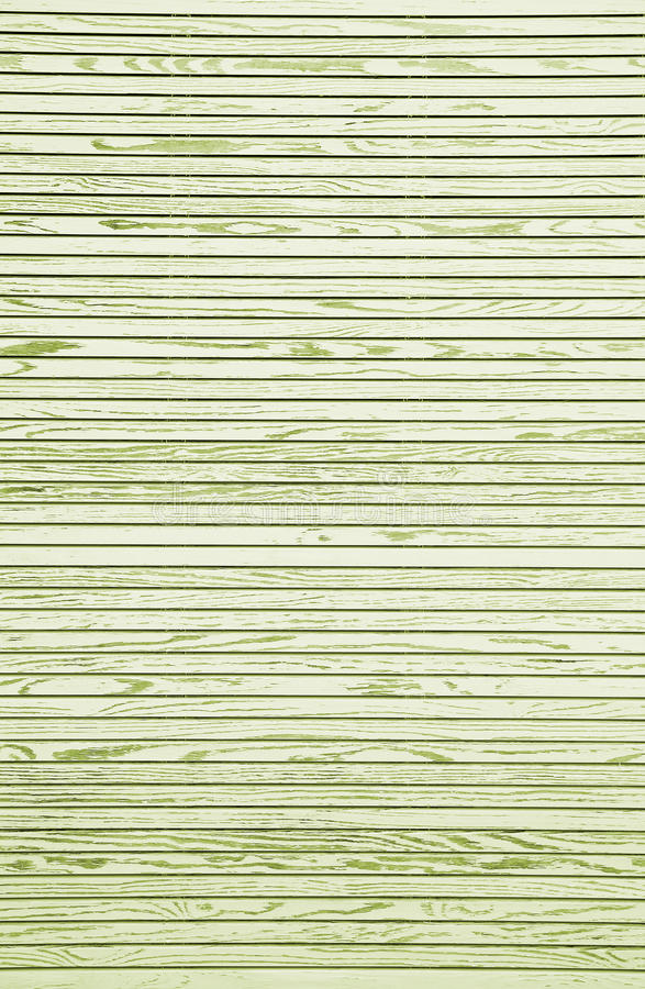 Wooden background with horizontal lines, asia style. Green toned royalty free stock image