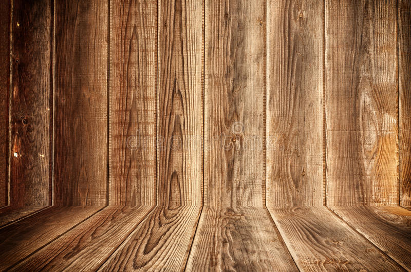 Wooden background. Old wooden board as the background stock photo