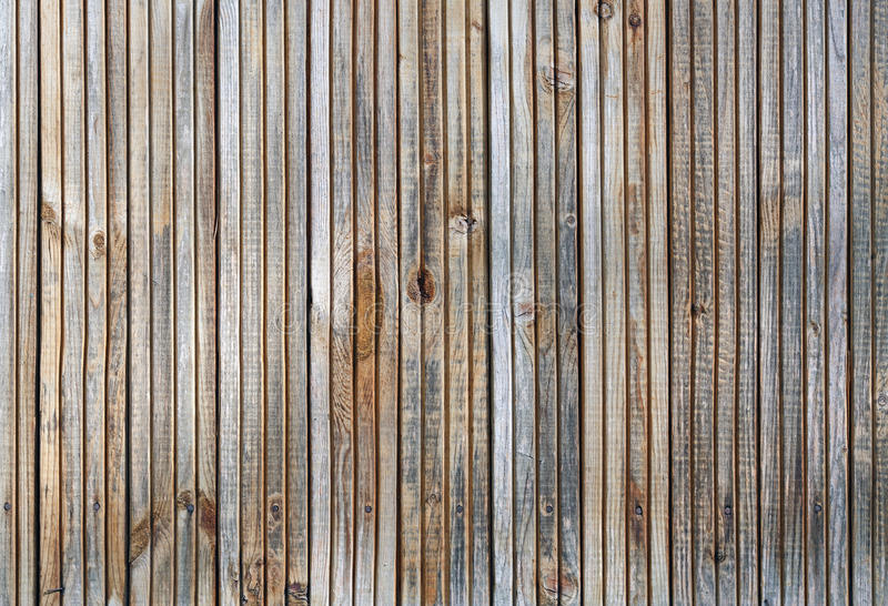 Wooden background. Old wooden plank texture background. Front view royalty free stock image
