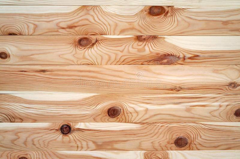 Wooden background, planed boards. royalty free stock photography