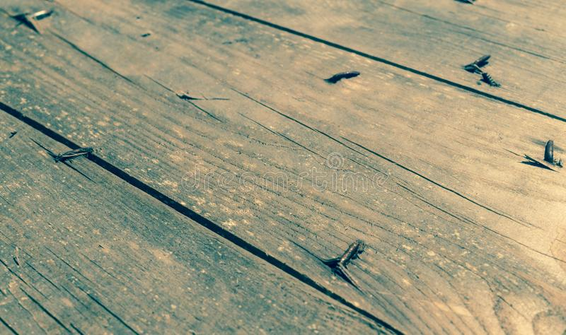 Grunge style background. Old wooden boards stock images