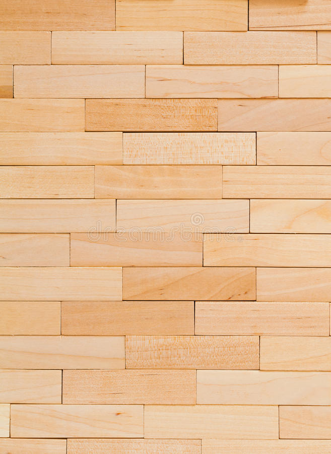 Wooden background stacked wooden bars texture.  royalty free stock photography