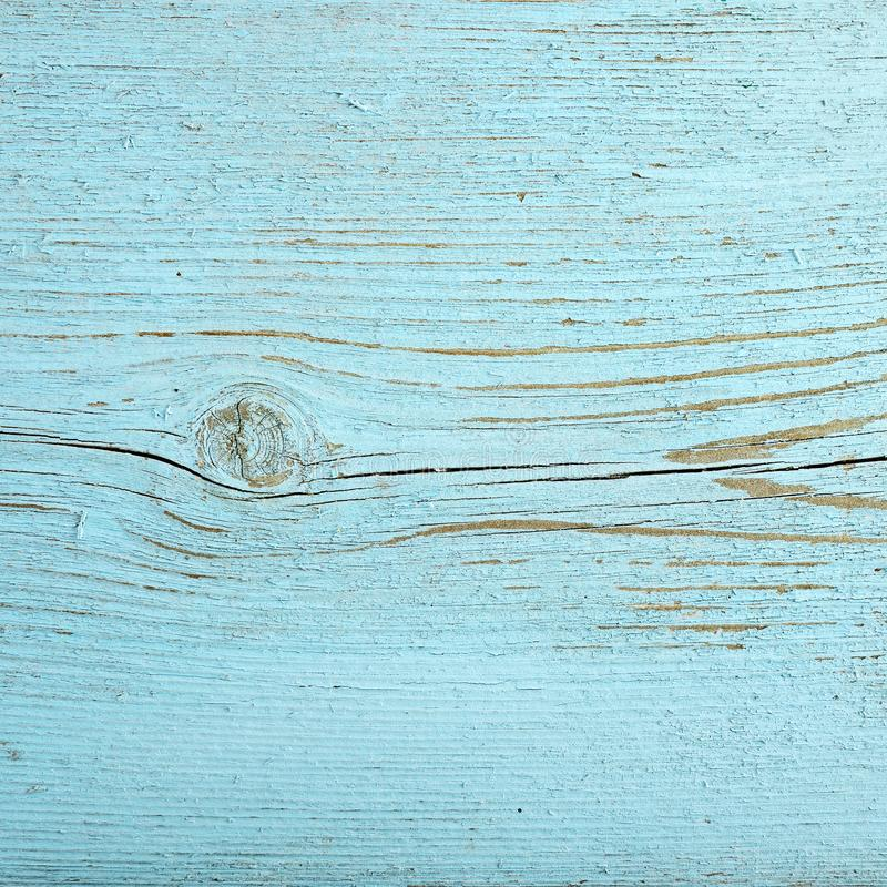 Wooden background. Texture old boards painted blue paint. royalty free stock images
