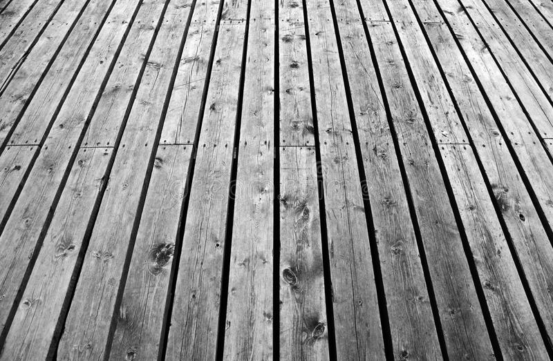 Wooden background texture. With perspective royalty free stock image