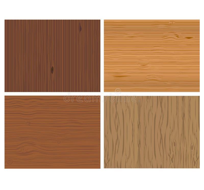Wooden background vector stock illustration