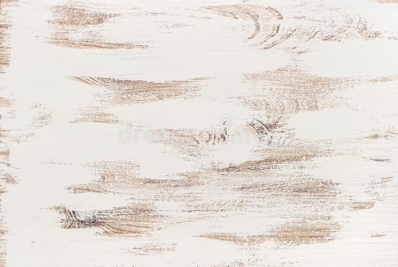 Wooden background white colored rustic texture stock photos