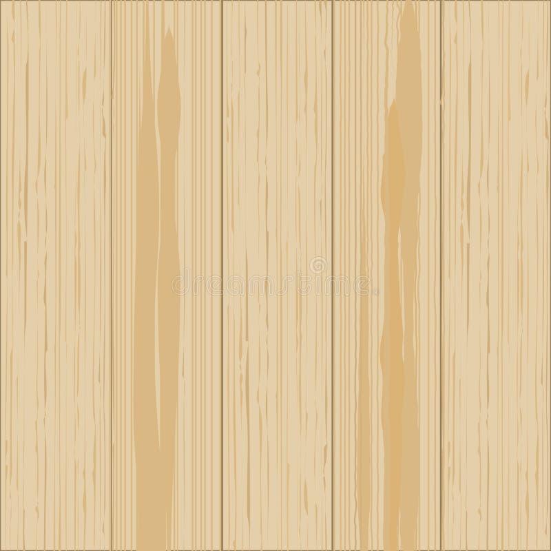 Wooden background. Wood texture, pine board illustration stock illustration