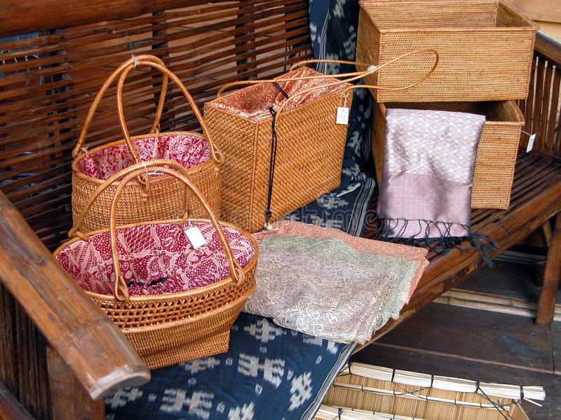 Download Wooden bags stock photo. Image of objects, inside, japanese - 30814