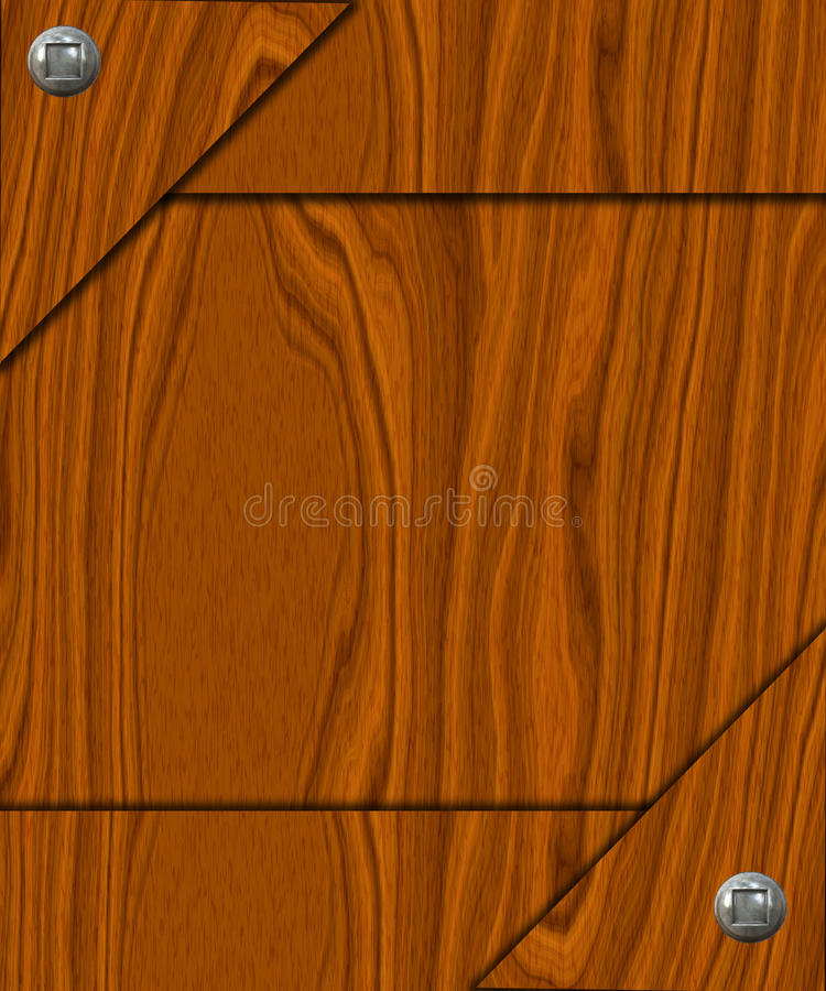 Wooden Banner Royalty Free Stock Photos