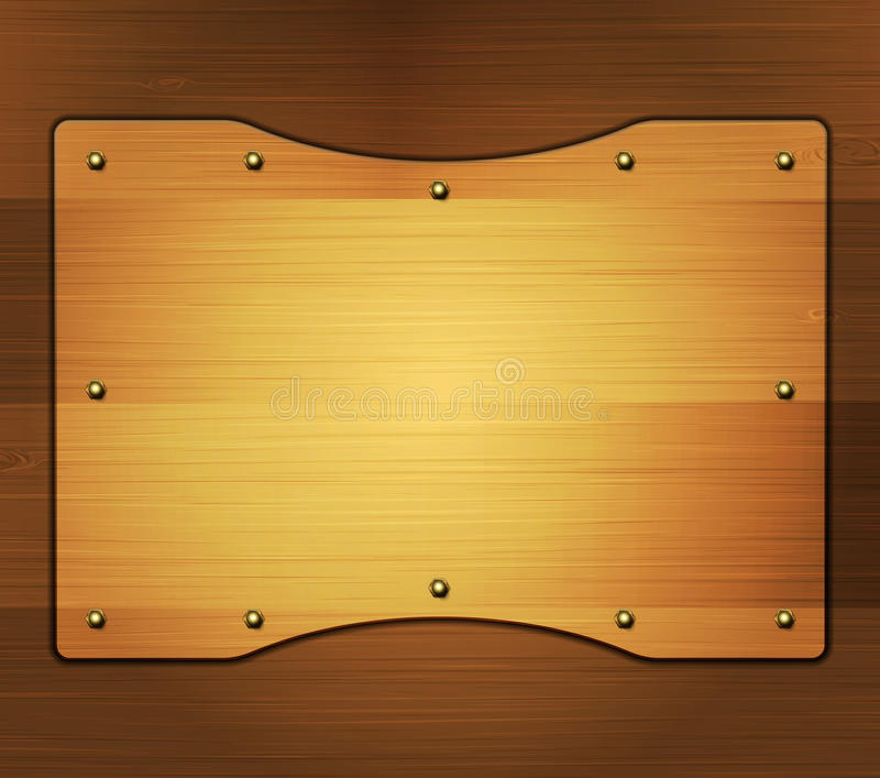 Download Wooden Banner Royalty Free Stock Images - Image: 34313499