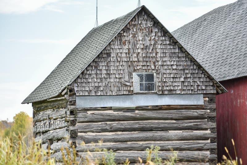 Wooden Barn, Condado de Southern Door fotos de stock
