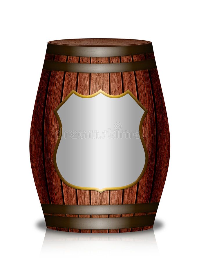 Download Wooden Barrel Royalty Free Stock Images - Image: 8676469