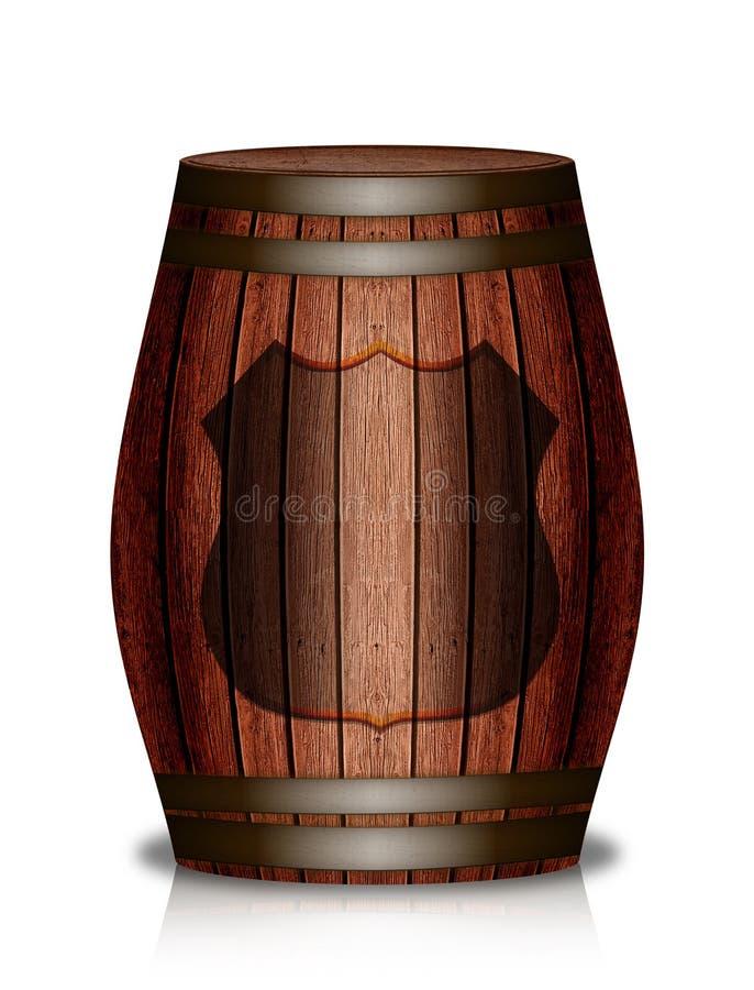 Download Wooden Barrel Royalty Free Stock Image - Image: 8676556
