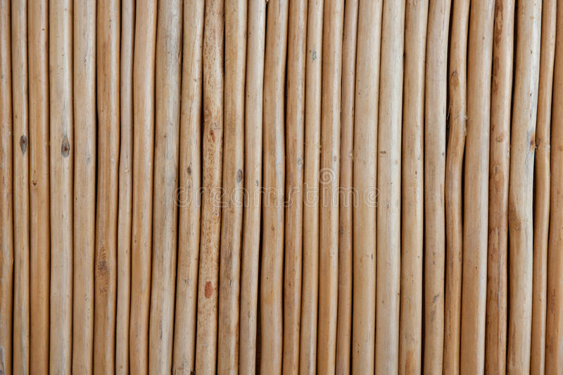 Wooden Bars. A background of vertical wooden bars stock photography