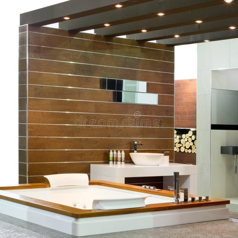 Wooden bath stock photography