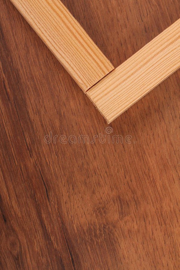 The Wooden Batten Square Scantling on the wood. This is a building materials. And this object for repair some frame. Some people make a birdcage from this object stock photo