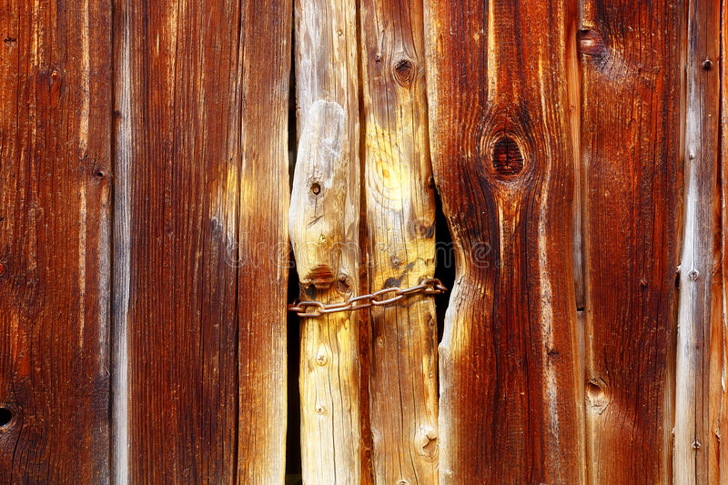Wooden batten wall with detailed structural pattern. stock photography