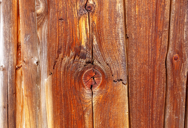 Wooden batten wall with detailed structural pattern. stock image