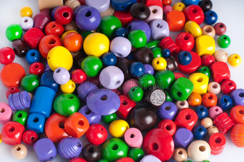 Download Wooden beads stock photo. Image of objects, design, round - 24688432