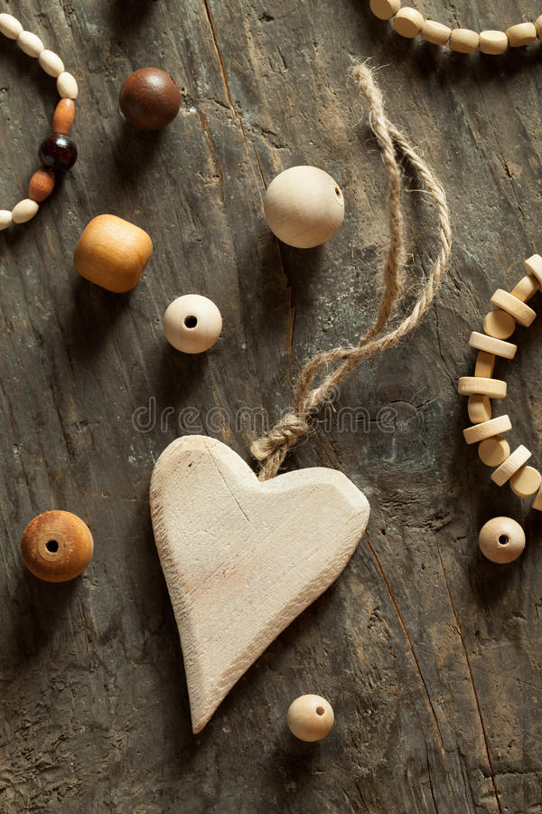 Download Wooden beads stock photo. Image of accessory, hobby, charm - 33863292