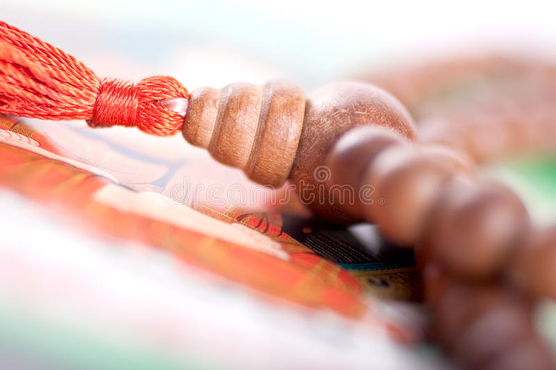 Download Wooden Beads Are On The Picture Stock Photo - Image: 10725172