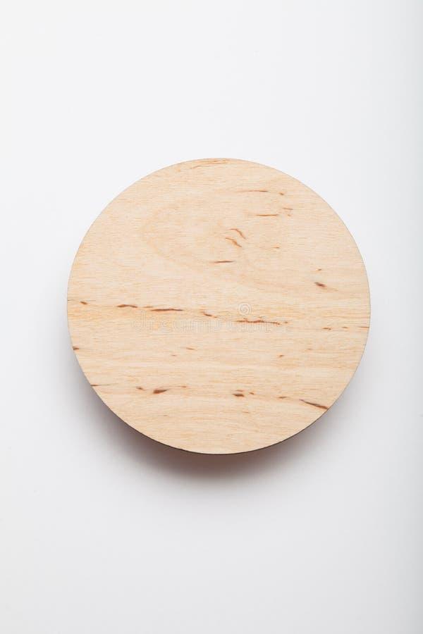 Wooden bear coaster design, mockup.  stock photo