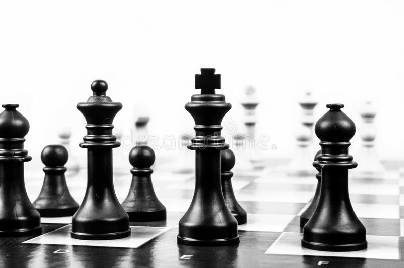 Wooden Black Chess Piece Free Public Domain Cc0 Image