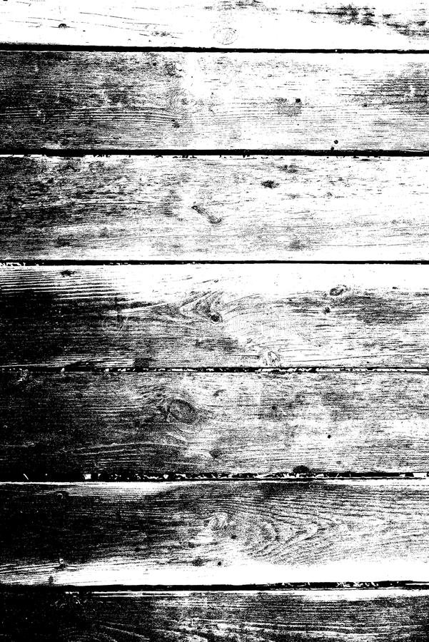 Wooden black and white grunge style background, wooden texture, structured surface, mockup floor grunge royalty free stock photography