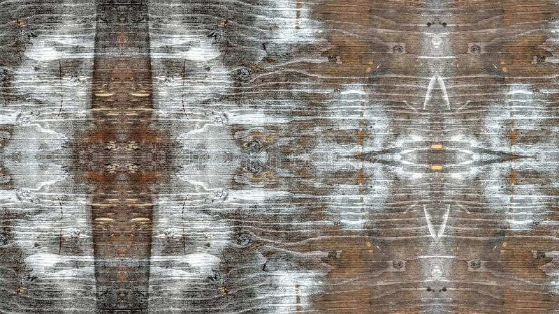 Wooden board sprayed with white royalty free stock photography