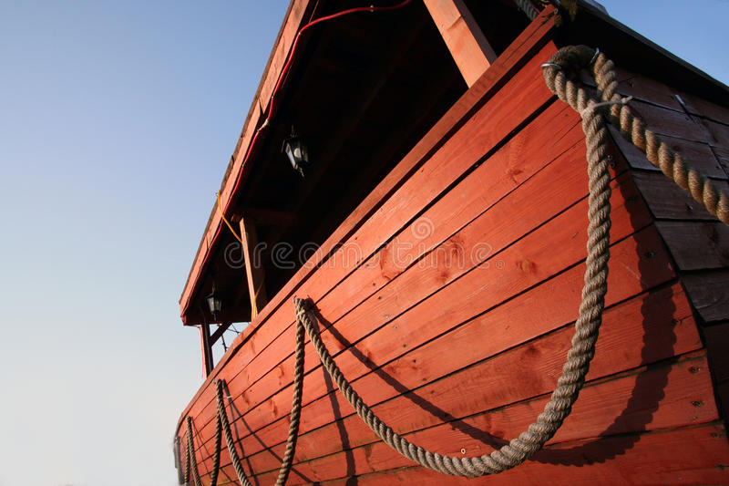 Download Wooden boat stock image. Image of rope, catch, flow, prowl - 14407781