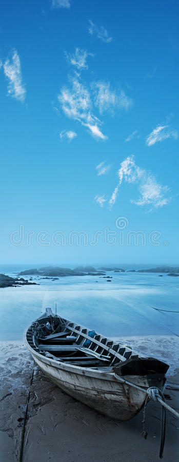 Download Wooden boat stock photo. Image of landscape, asia, scenic - 23001352