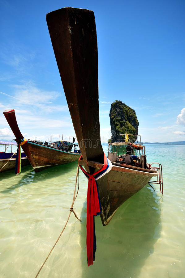 Download Wooden boat. stock photo. Image of holiday, boat, thailand - 27598390