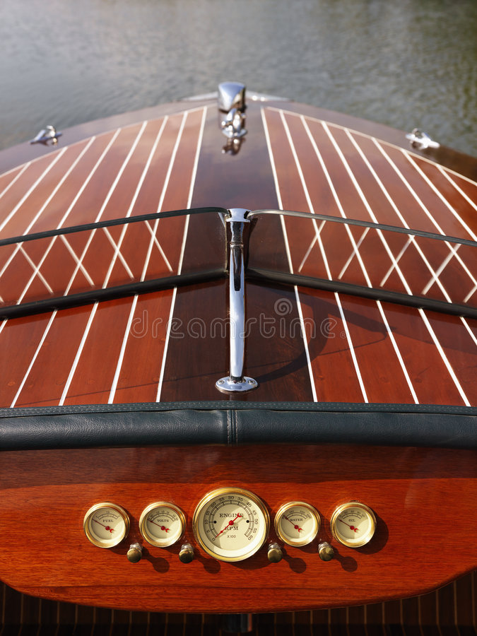 Download Wooden boat. stock photo. Image of windshield, high, dinghy - 3470664