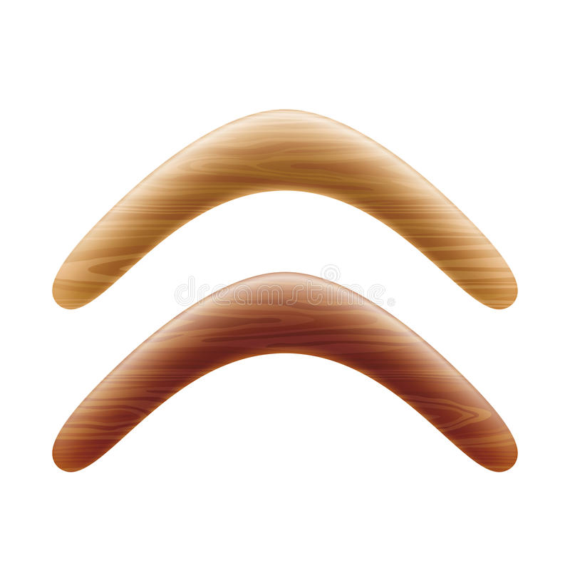 Download Wooden Boomerang Stock Photo - Image: 32763260
