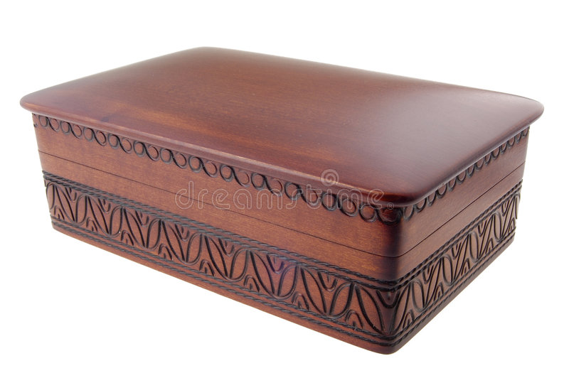 Download Wooden box stock photo. Image of case, wooden, carve, ornament - 1198436