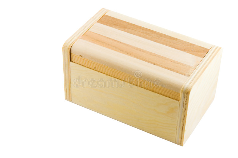 Download Wooden box stock photo. Image of brown, closed, pattern - 7632662
