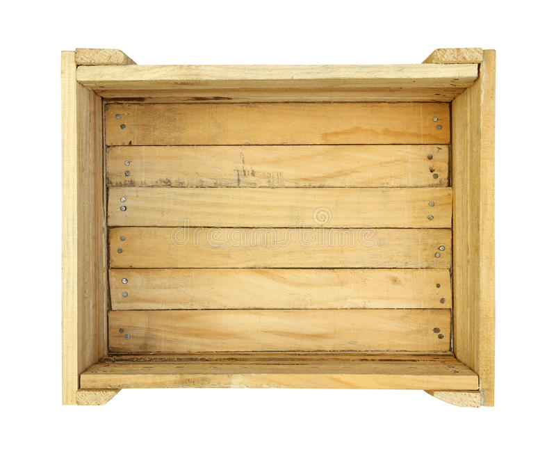Wooden box stock images