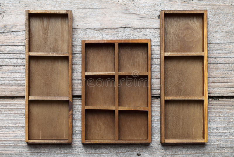 Download Wooden box tray stock image. Image of blank, color, retro - 25321831