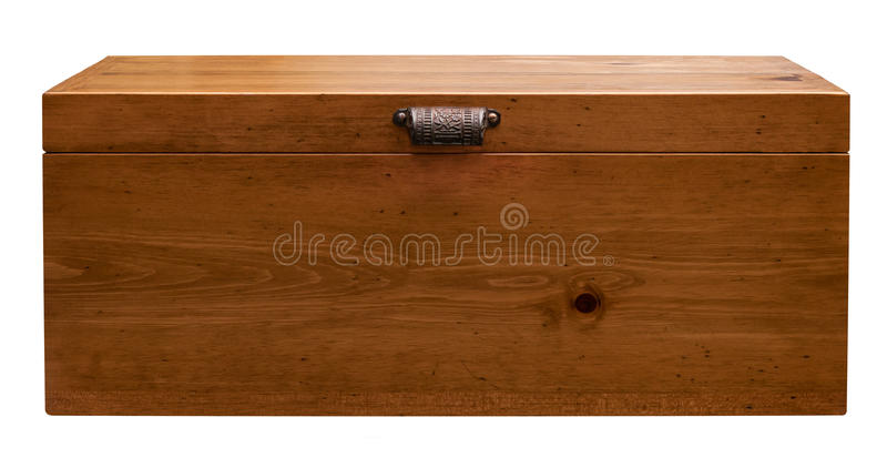 Wood Box royalty free stock images