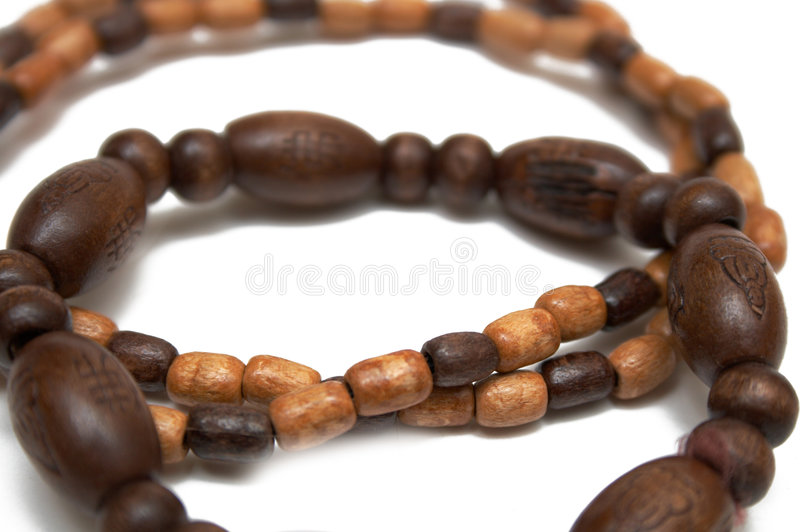 Download Wooden bracelet stock photo. Image of ancient, meditate - 5353150