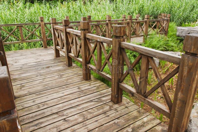 Download Wooden bridge stock image. Image of woods, nature, river - 25445647