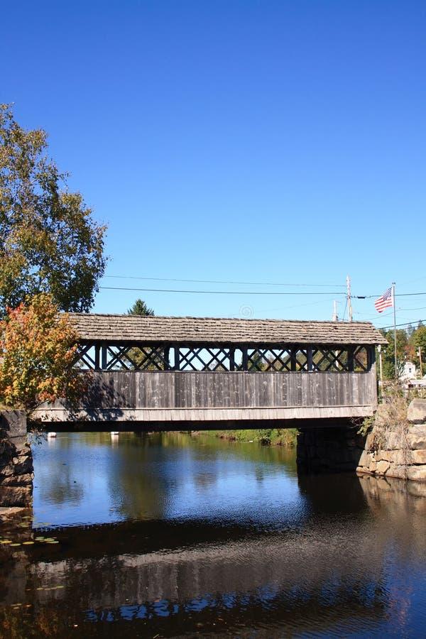 Download Wooden bridge in Vermont stock photo. Image of nature - 11633798