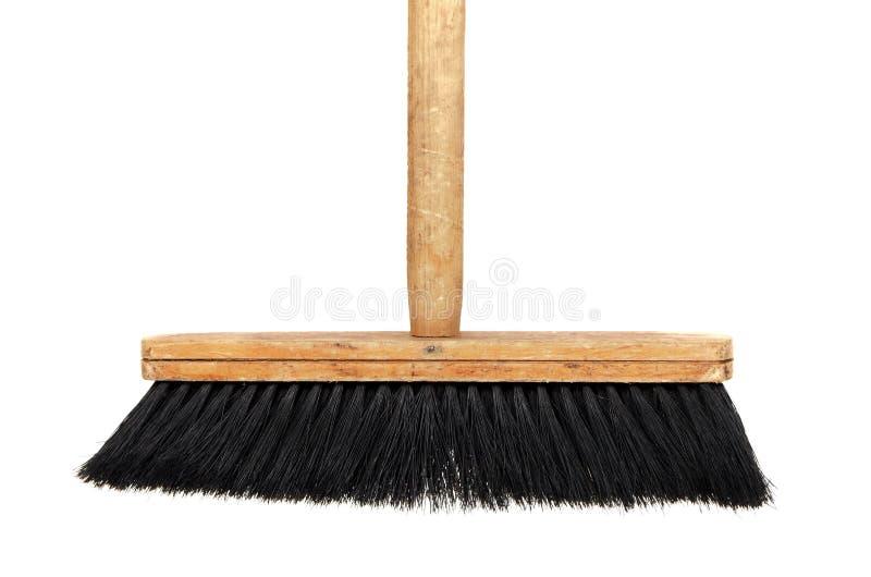 Wooden Broom Stock Image