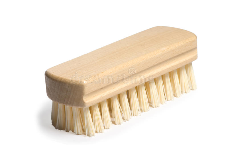 Wooden brush royalty free stock image