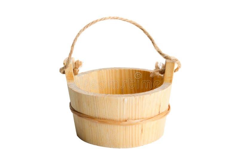 Wooden Bucket Royalty Free Stock Photos